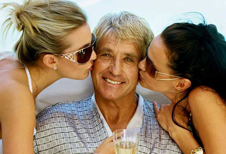 younger women dating older men